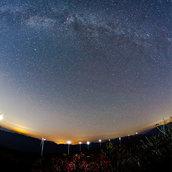 Milky way in Taegisan
