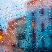 The wet window wallpaper