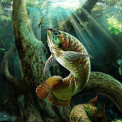 Ace Fishing wallpaper(ver.1)