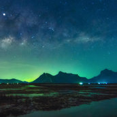 Beautiful Milky way Wallpaper