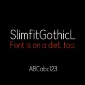OdSlimfitGothicL [Font]