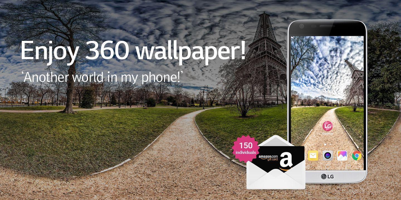 [Enjoy 360 wallpaper!]