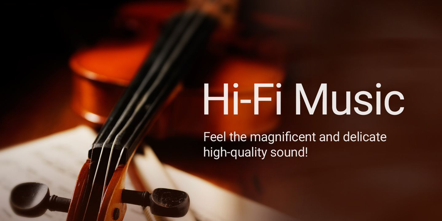 [Feel the magnificent and delicate high-quality sound!]