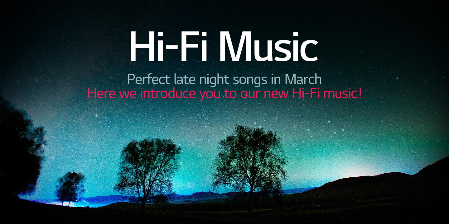 [Perfect late night songs in March]